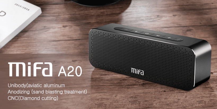 MIFA A20 Bluetooth Speaker Metal Portable Super Bass Wireless speaker Bluetooth