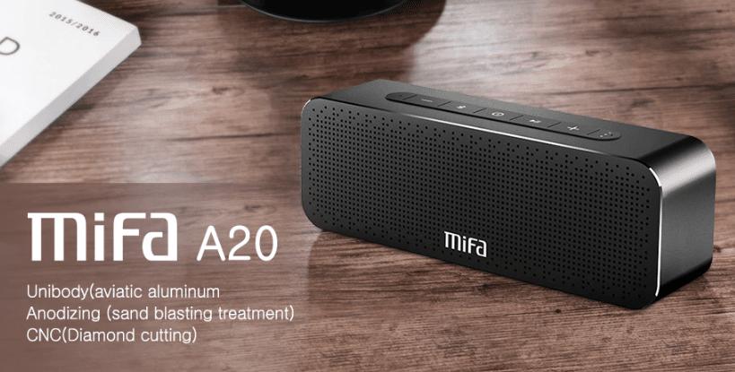 MIFA A20 Bluetooth Speaker Metal Portable Super Bass Wireless speaker Bluetooth