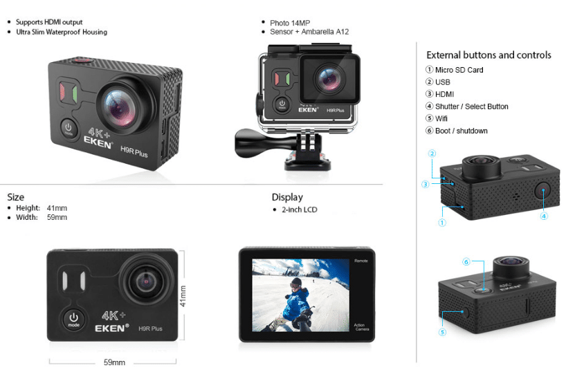 chinese action camera aliexpress