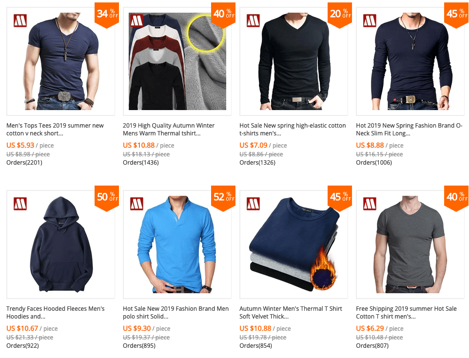 aliexpress clothing review for men
