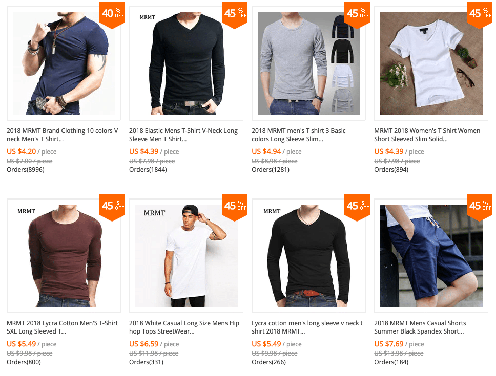 men clothing aliexpress