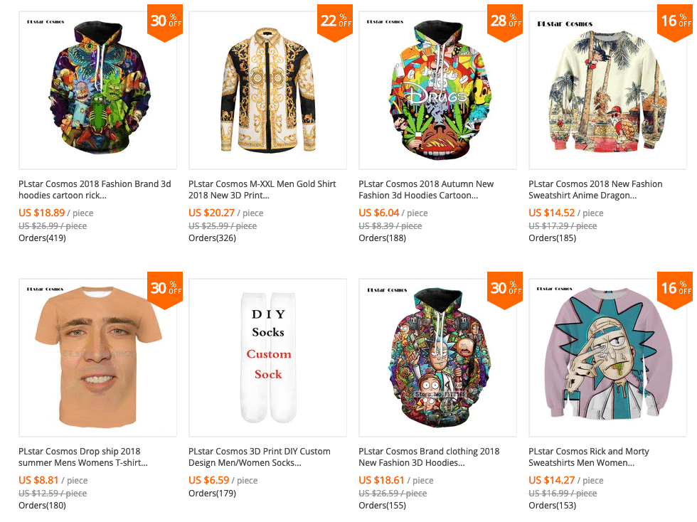 graphic print clothes for men CHEAP