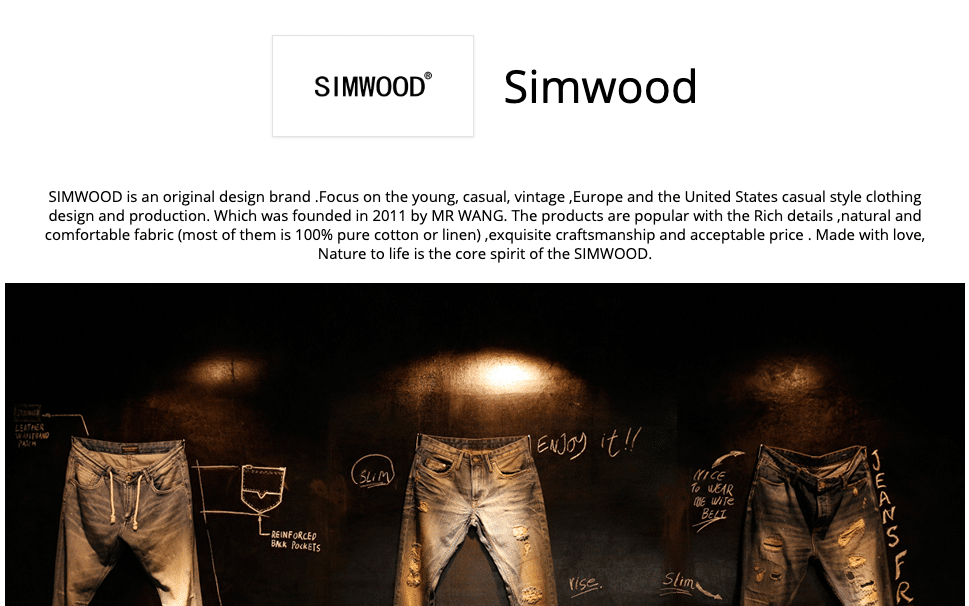 simwood store aliexpress men clothing