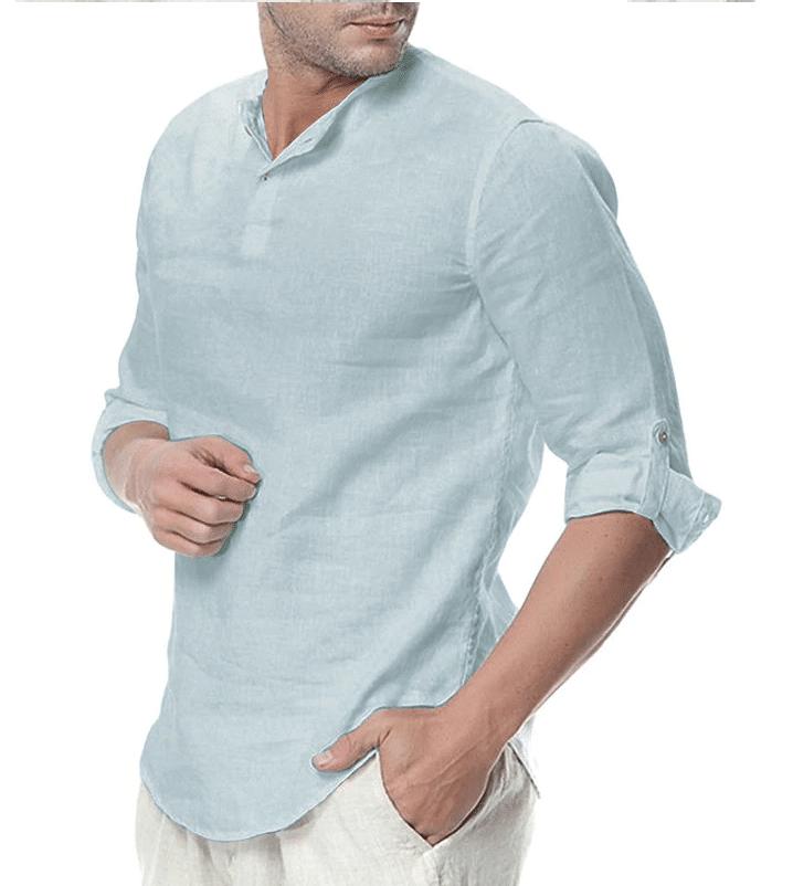 mens linen shirts aliexpress