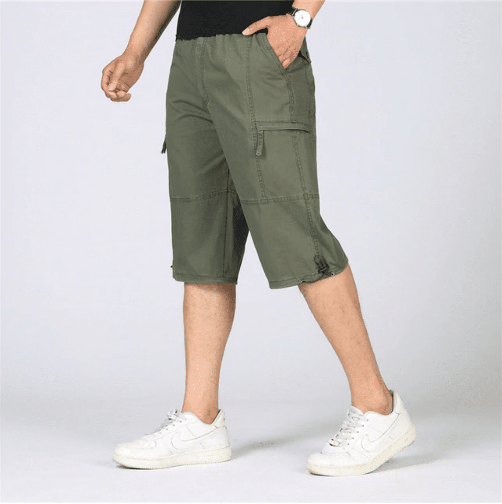 mens long shorts below the knee