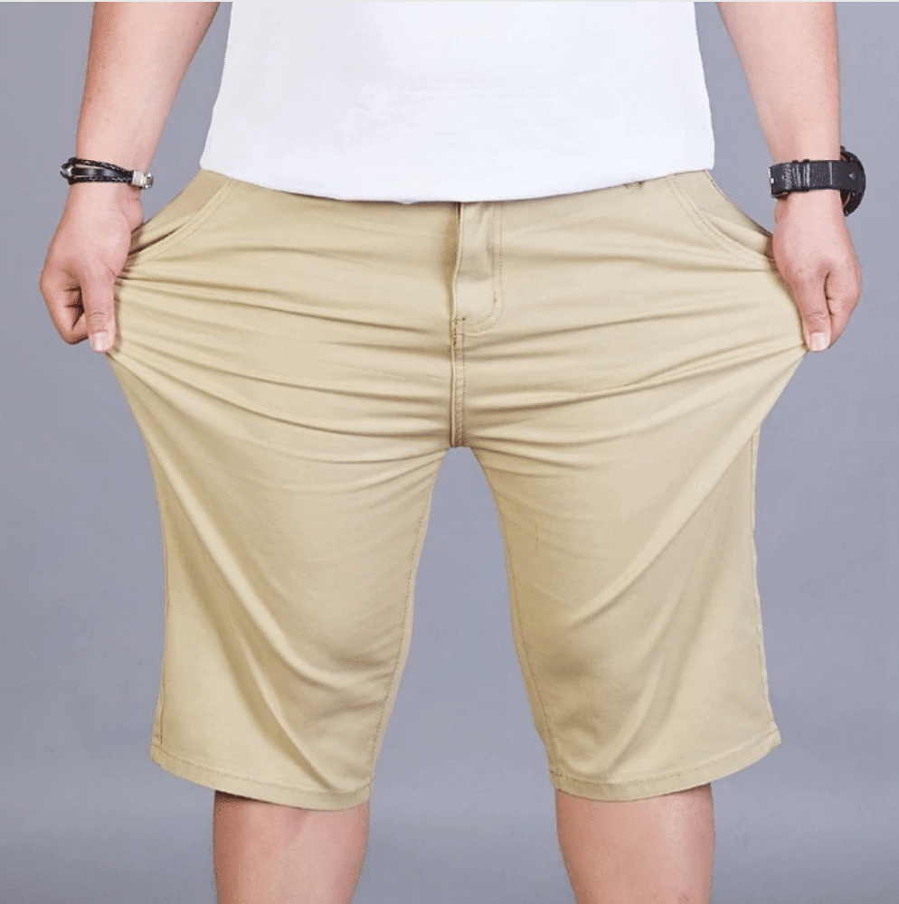 mens khaki shorts