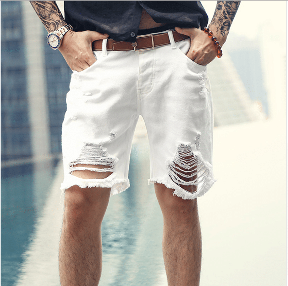 cheap ripped jeans shorts