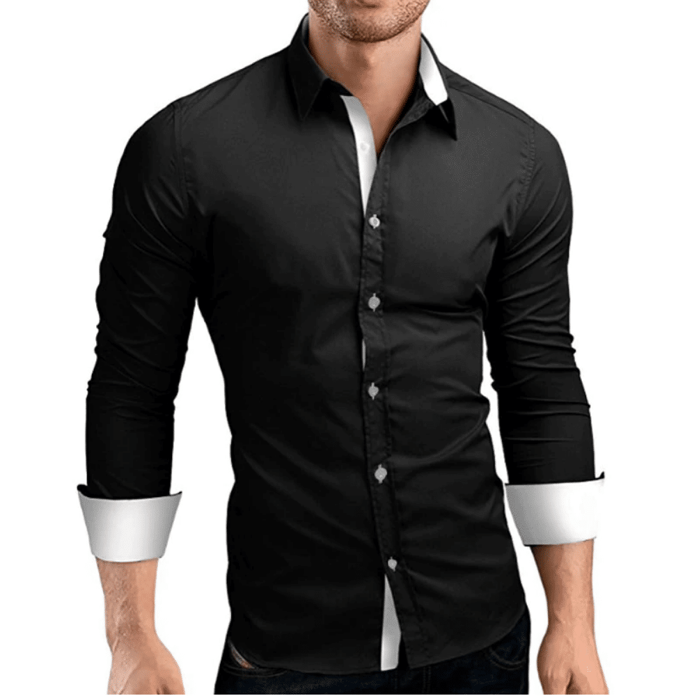 black shirt for men