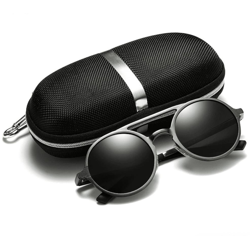 round sunglasses men