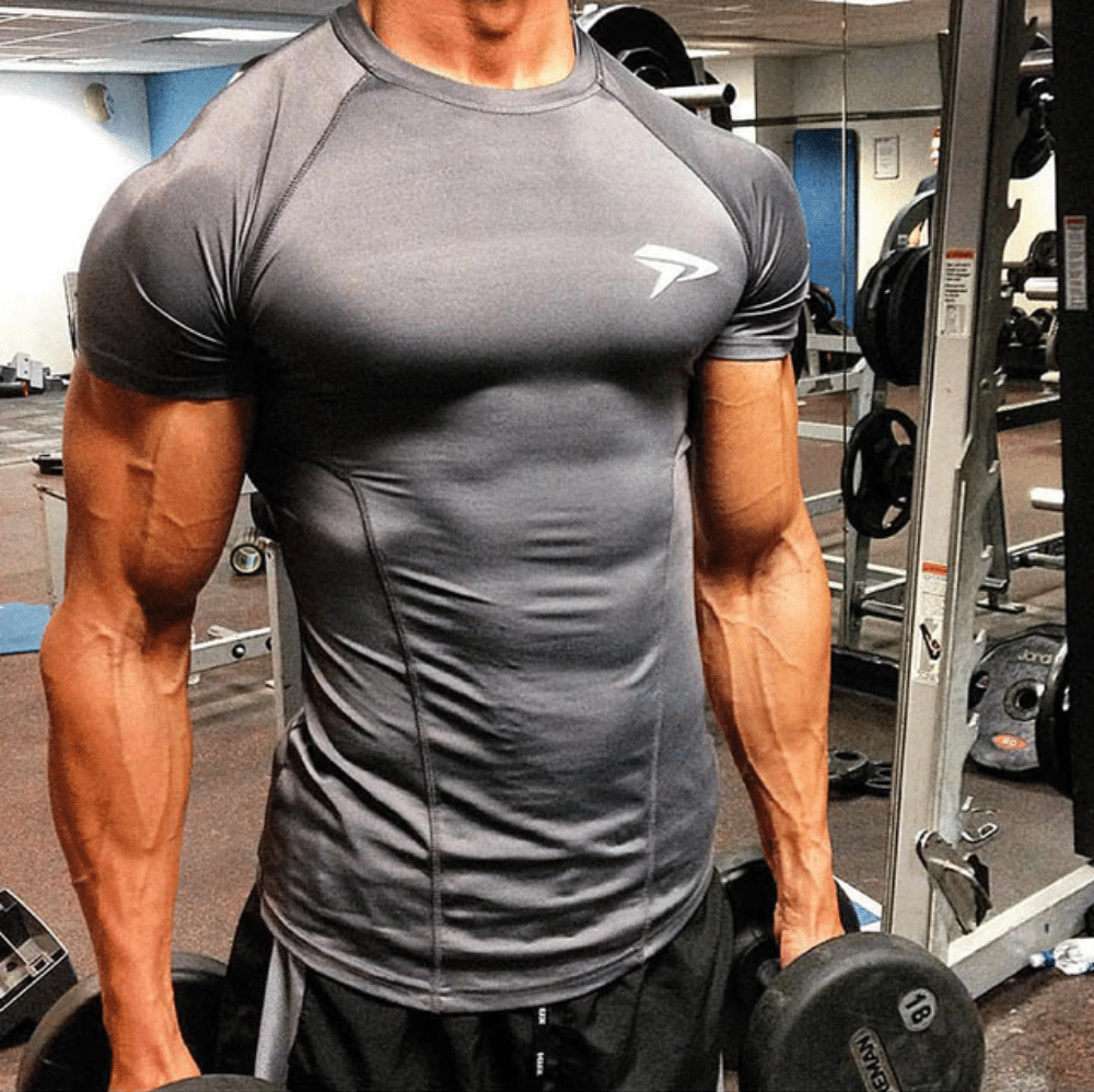 gym t shirts men