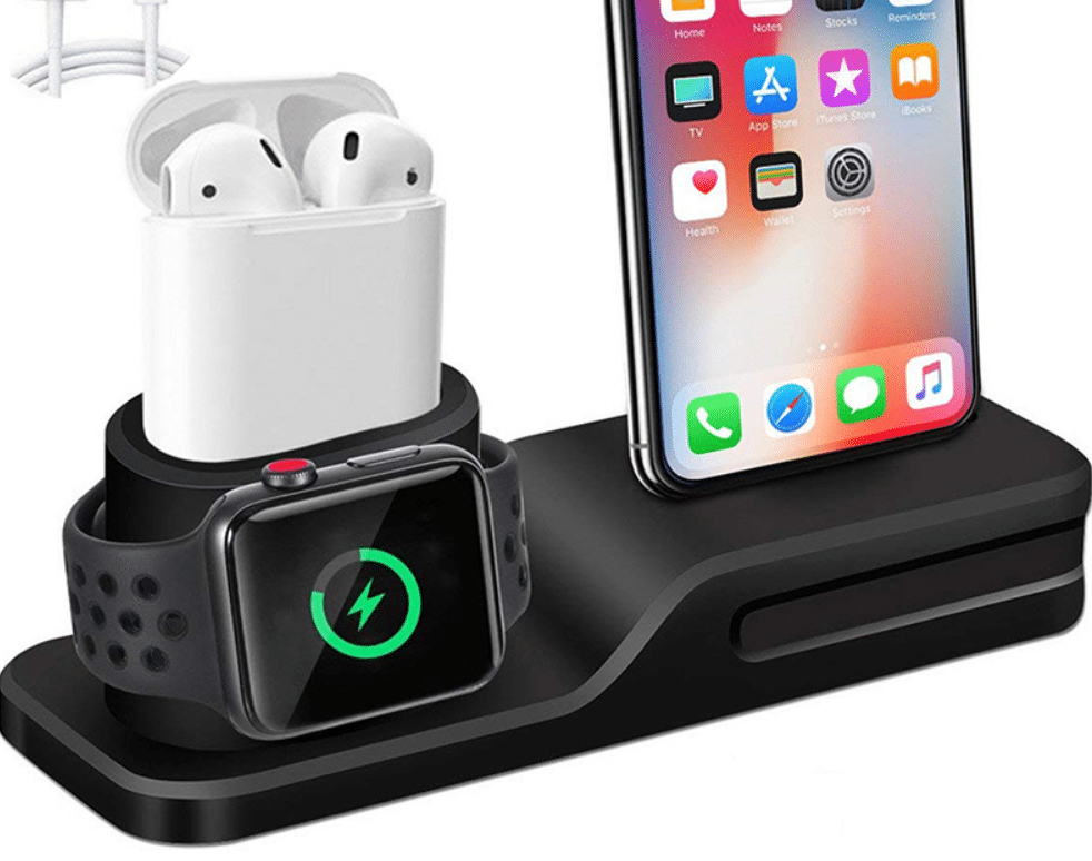 apple wireless charging station
