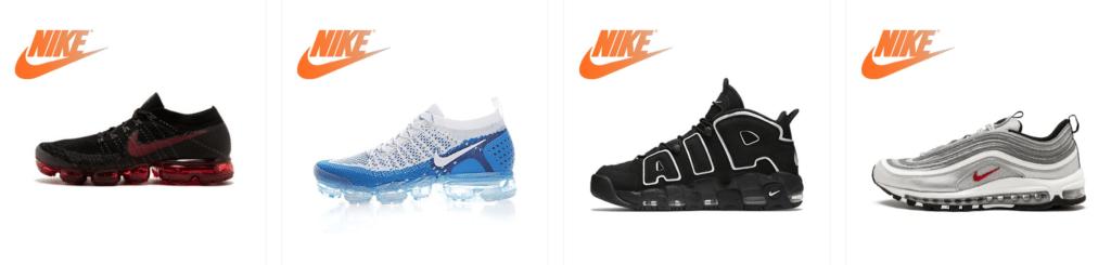 TOP 11 Nike Repliken und Kopien von Schuhen Verkäufer online