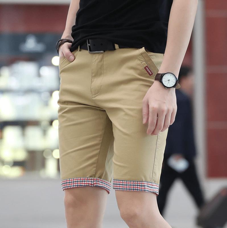 chino shorts for men summer