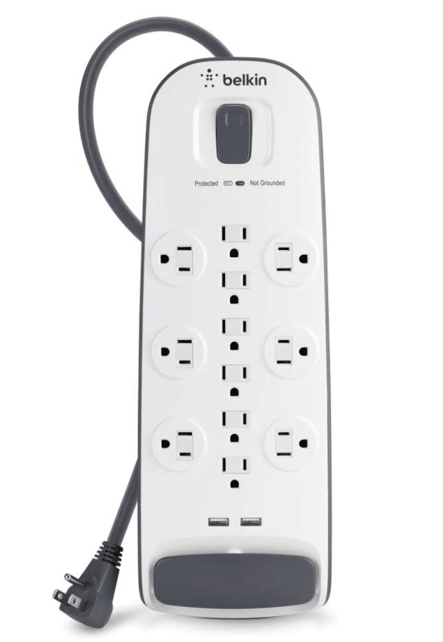 belkin power strip with 12 outlets
