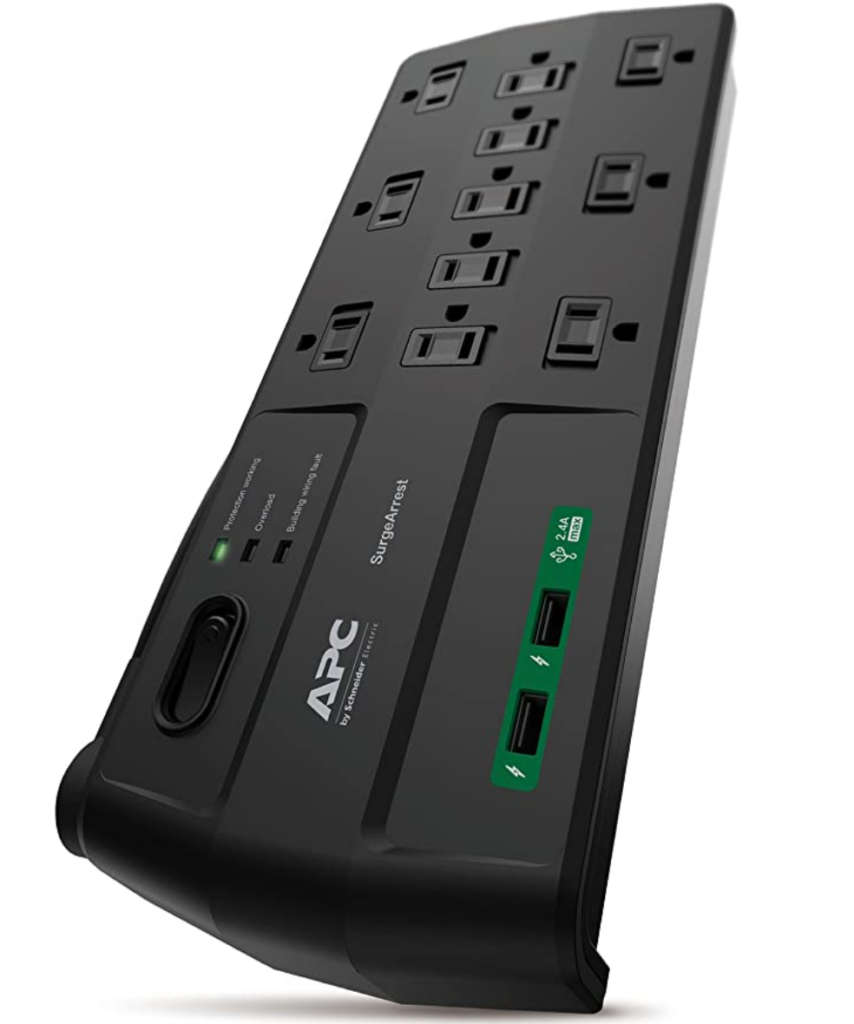 powerstrips with USB - APC surge protector on Amazon
