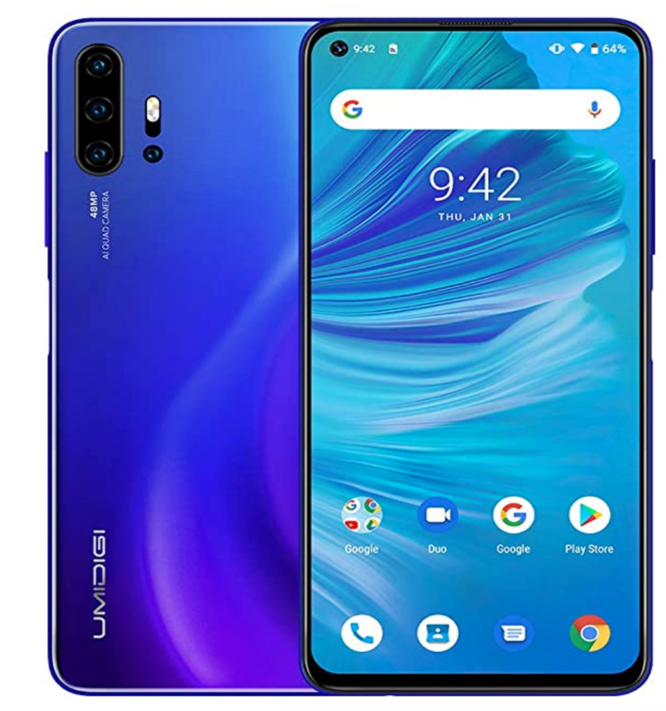 Umidigi F2 on Amazon