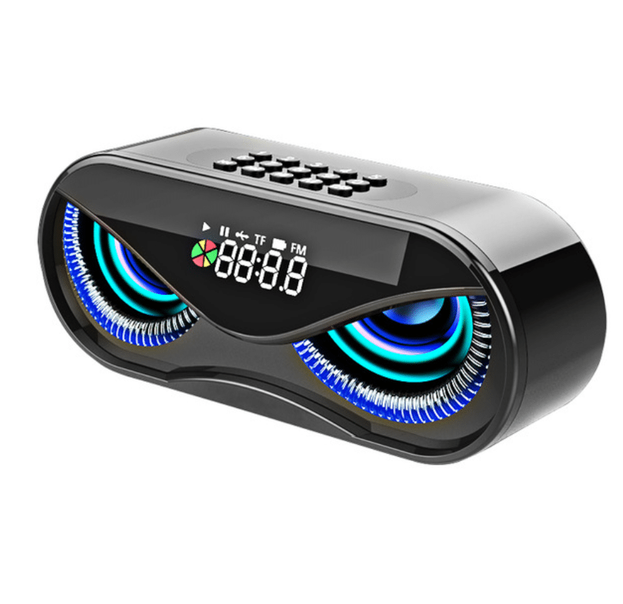bluetooth speakers with LED light