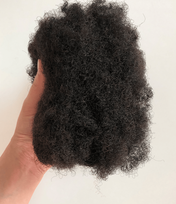kinky curly hair from china