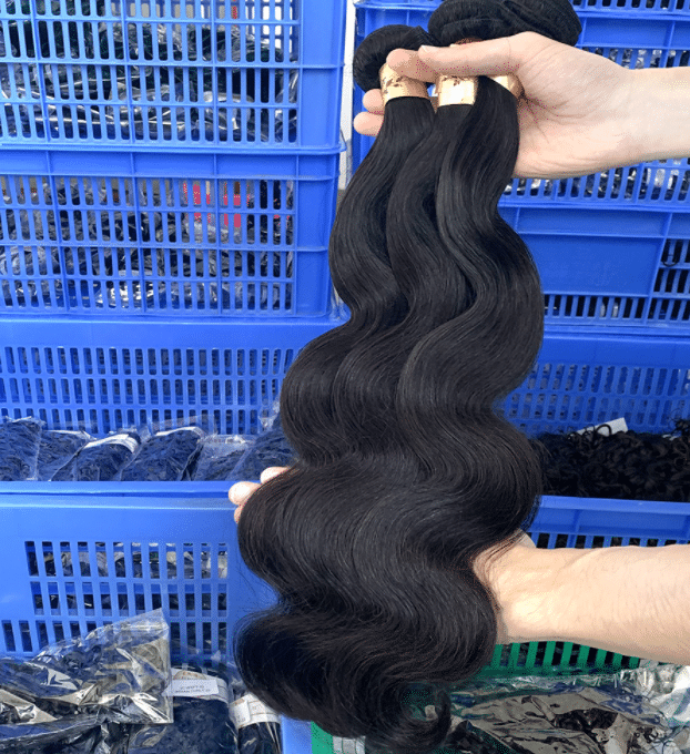virgin hair weaves china
