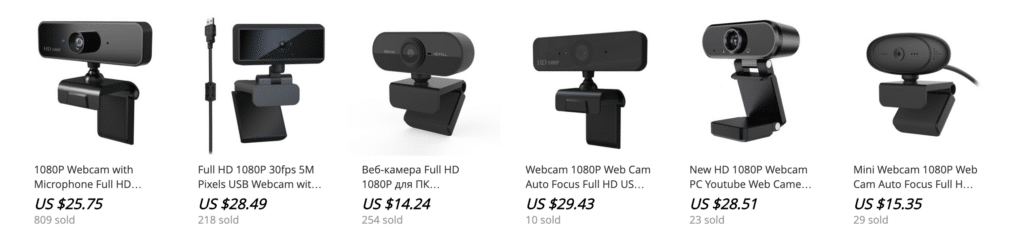 1080p aliexpress webcam