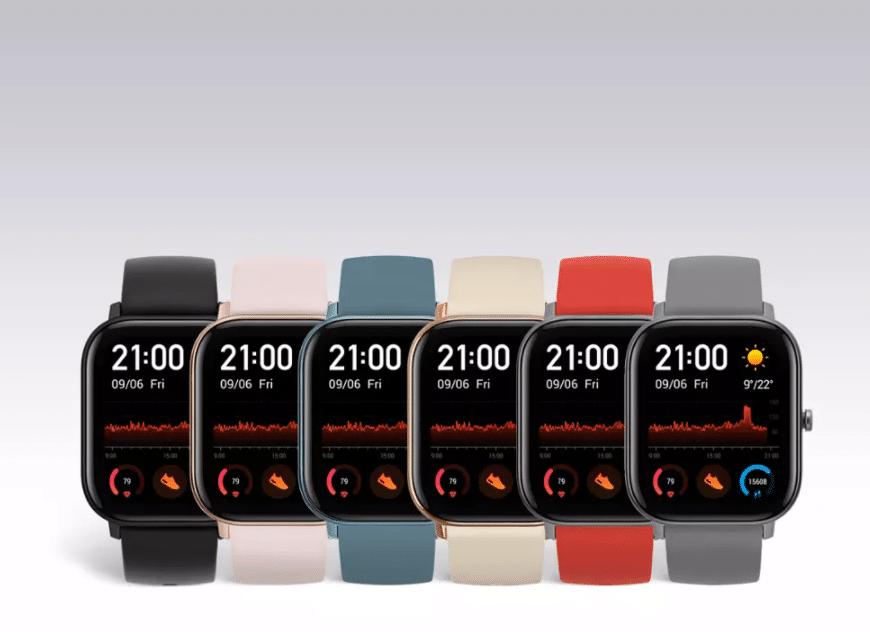 Amazfit GTS waterproof smartwatch