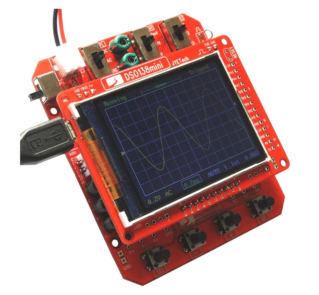 digital chinese oscilloscope